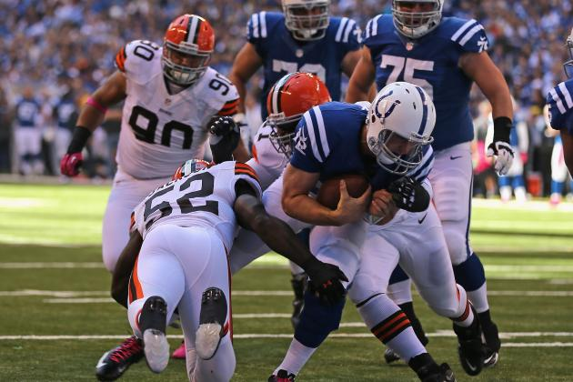 Browns vs. Colts: Luck, Defense Lift Indianapolis Back to .500