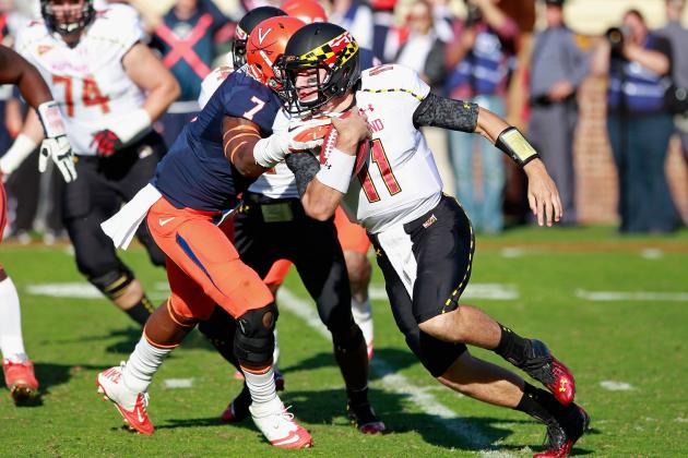 Terps Quarterback Situation vs. Boston College Could Be a Game-Time Decision