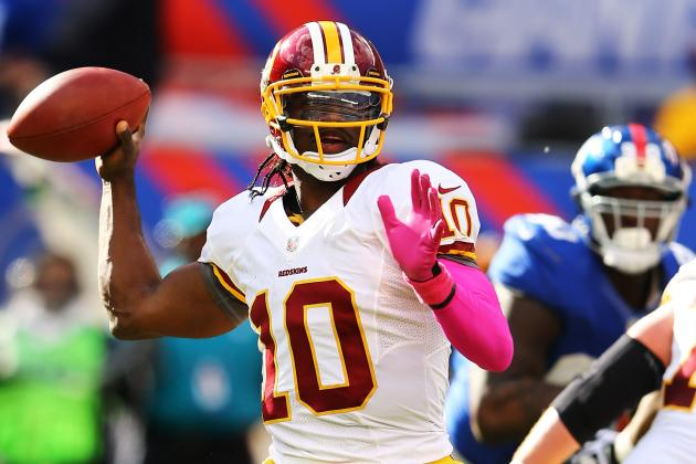 RG3 Not Playing Like a Rookie