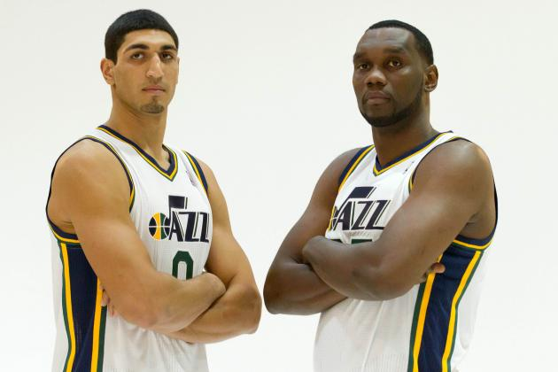 Al Jefferson Passes on Skills to 'Young Fella' Kanter