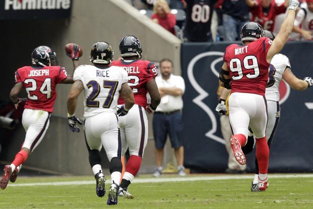 Ravens vs. Texans: Houston Teaches Baltimore What Good Defense Looks Like