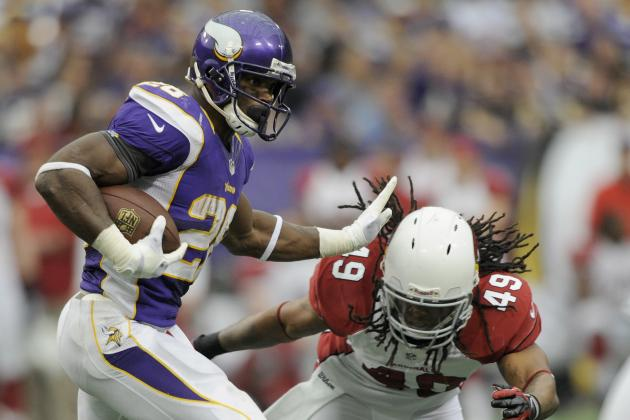 Adrian Peterson, Vikings Defense Have Big Day in Win over Arizona Cardinals