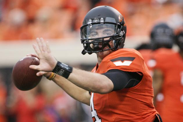 Report: Oklahoma State Quarterback J.W. Walsh out for Season with Knee Injury