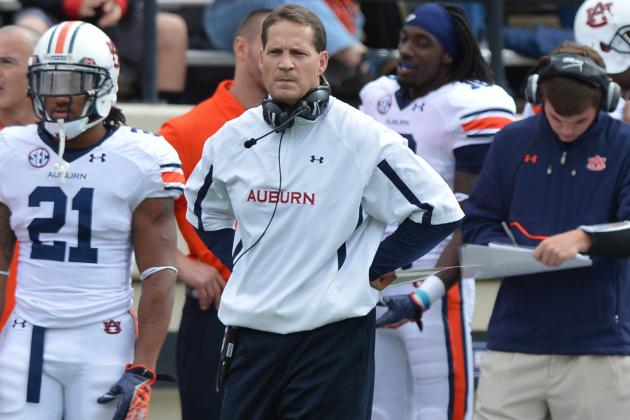 Auburn Football: With Gratitude, Auburn Should Say Goodbye to Gene Chizik