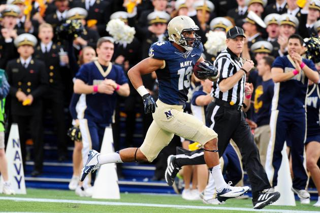 Academy Football Summary: Navy Wins Thriller over Indiana, AFA Wins, Army Loses