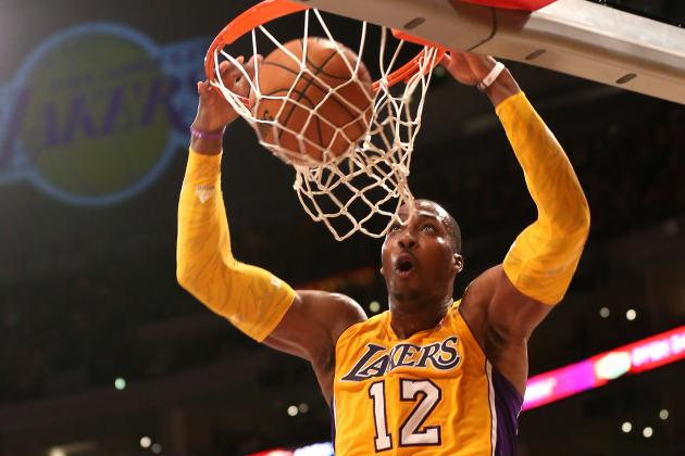 Dwight Howard: Breaking Down Preseason Debut of Lakers' Star Center