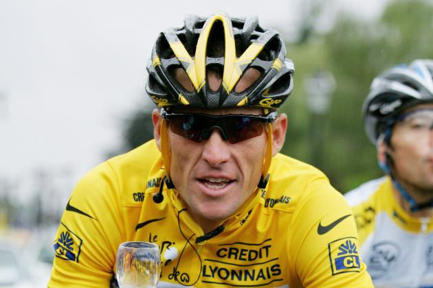 Cycling body strips Lance Armstrong of Tour de France wins