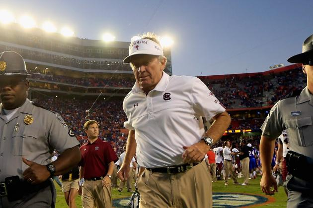 South Carolina Football: Truth Is, the Road Gamecocks Just Aren't Very Good
