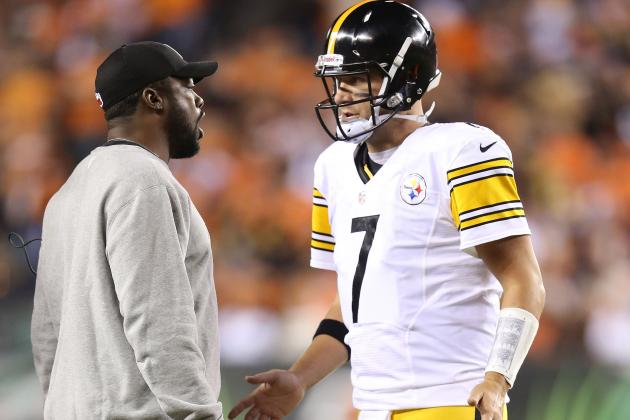 Steelers Notebook: Tomlin: No Rift Between Roethlisberger, Haley