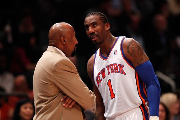 Why NY Knicks Must Use Amar'e Stoudemire as Sixth Man After Knee Injury