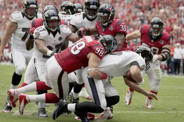 Ravens vs. Texans Take 2: Houston Sets the Pace in the AFC