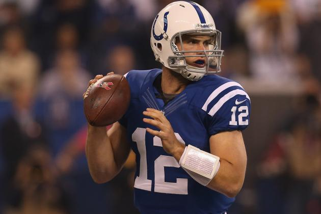 Andrew Luck: Fantasy Owners Must Start Indianapolis Colts QB for Rest of Season