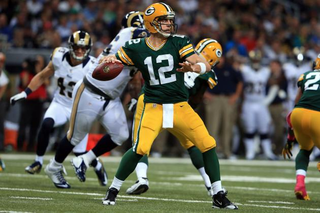 Aaron Rodgers Adds Another 30-300-3 Game to His Resume