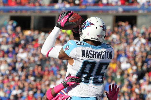 Tennessee Titans' Nate Washington Gets 'Money Catch'