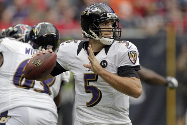 Flacco's QBR Is Lowest Rating in Five Years
