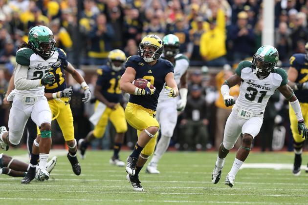 Michigan's Drew Dileo Is the Big Man on Campus