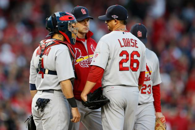 Matheny Trusts Lohse, Boggs
