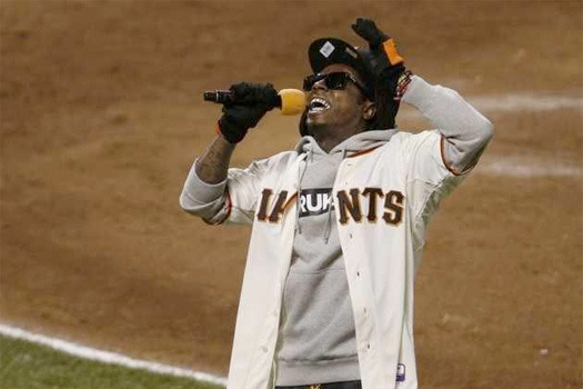 Lil Wayne Sings 'Take Me out to the Ballgame'