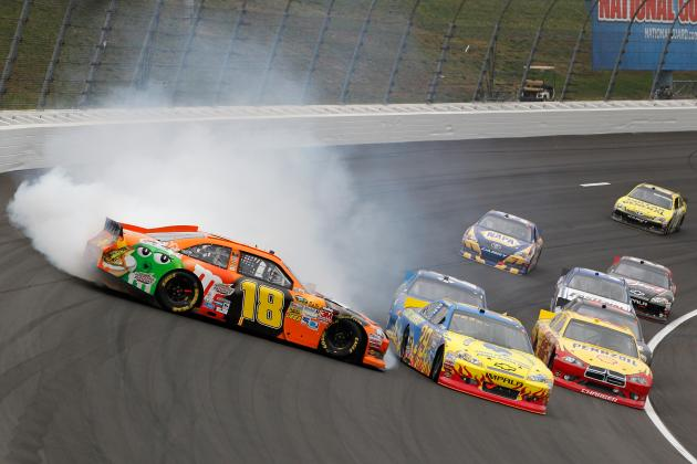 Kyle Busch Vows to Get Even with Ryan Newman for Wreck