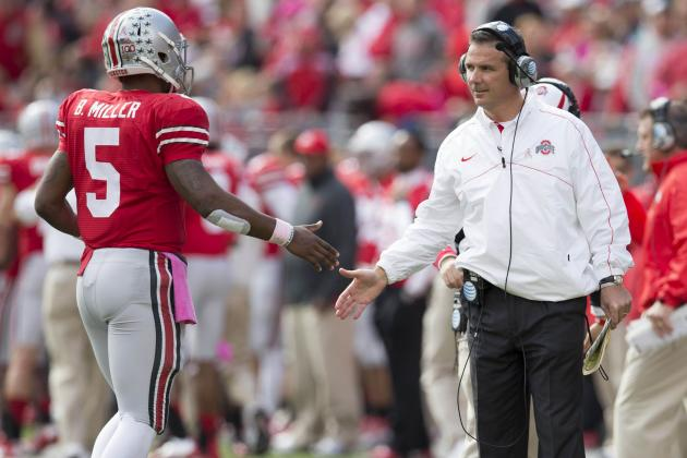 Braxton Miller Injury Update: Urban Meyer Doesn't Expect Sore Neck to Stop QB