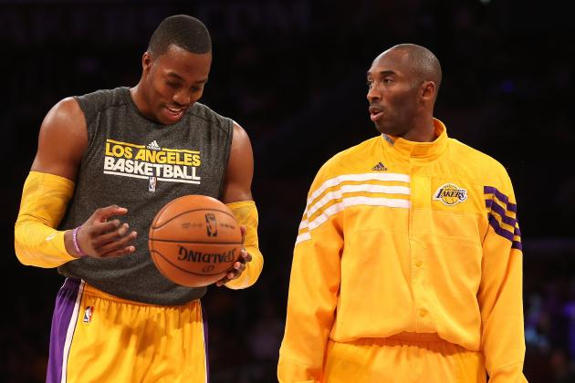 Kobe Bryant Demanding More from Dwight Howard Will Raise Superman's Game