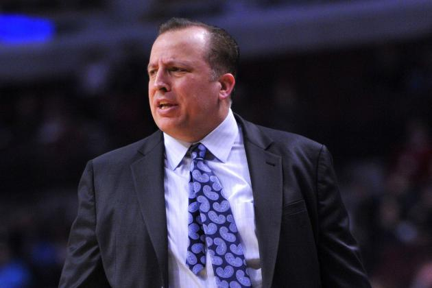 Coach Tom Thibodeau's Work Ethic Has Won His Players' Respect