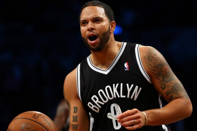 Deron Williams May Play Season Opener with Betty White Tattoo for Charity