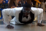 Pacers' Roy Hibbert Goes Gangnam at the Mall