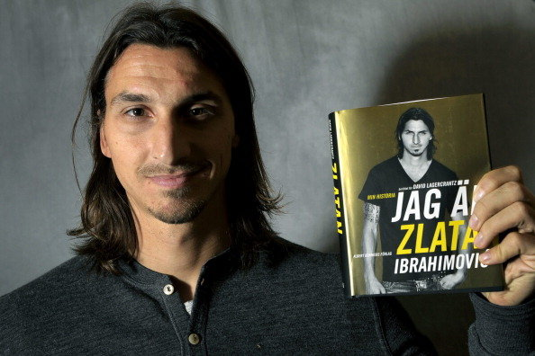 Zlatan Ibrahimovic's Autobiography Short-Listed for Swedish Literary Award