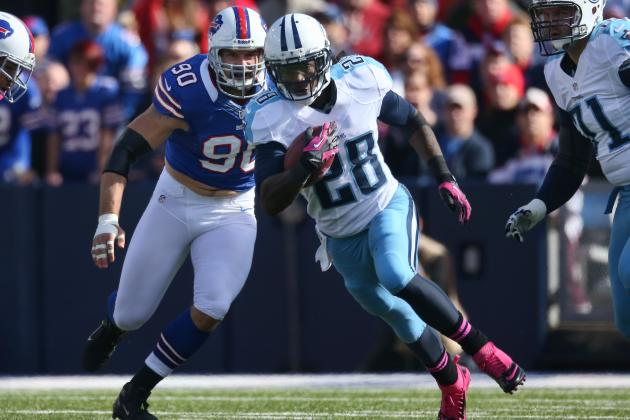 2012 Fantasy Football Running Back Rankings: NFL Week 8