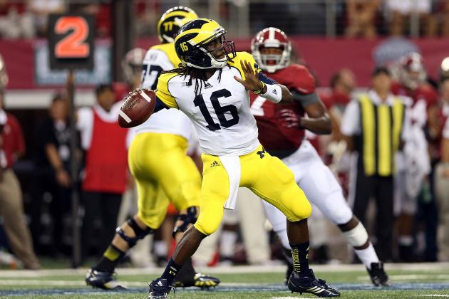 Michigan Football: Keys to Denard Robinson Leading Blue to Big Win over Nebraska