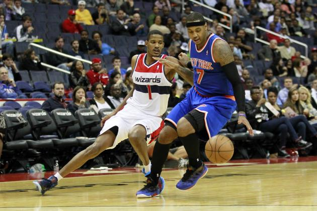 Breaking Down How NY Knicks Can Replace Amar'e Stoudemire with Carmelo Anthony