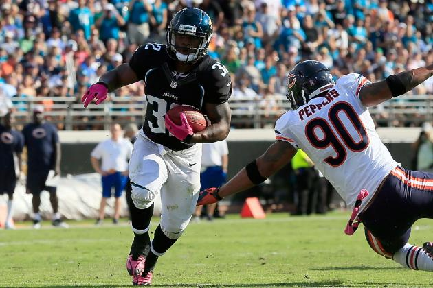Maurice Jones-Drew: Jaguars Destined for No. 1 Pick with Star RB Injured