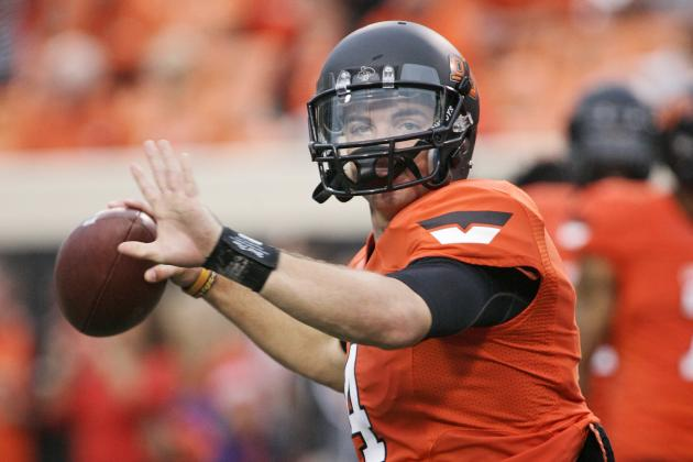 Oklahoma State QB Done for the Year with Knee Injury