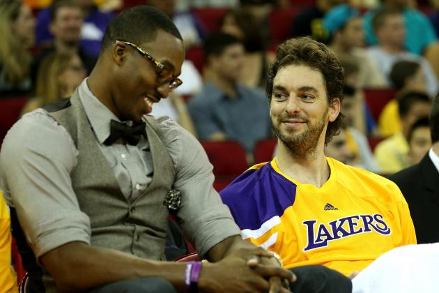 Pau Gasol Will Remind Fans Why He's a Star with a Healthy Dwight Howard