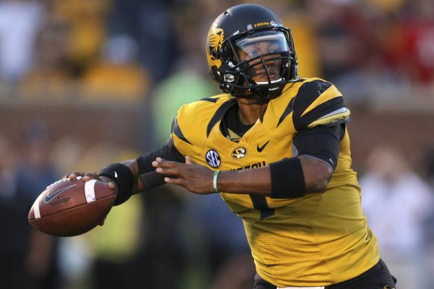 Mizzou QB Franklin Likely to Miss Kentucky Game