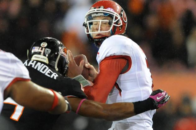 Wilson Blames Himself for Utah's Loss to Oregon State