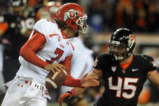 Utah Turnovers Prove Costly in Loss to Oregon State Beavers