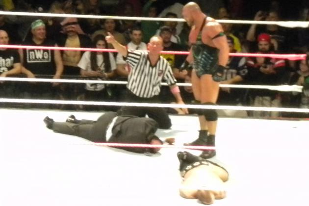 WWE Raw Live Event October 21: Ryback Runs Rampant on CM Punk and Paul Heyman