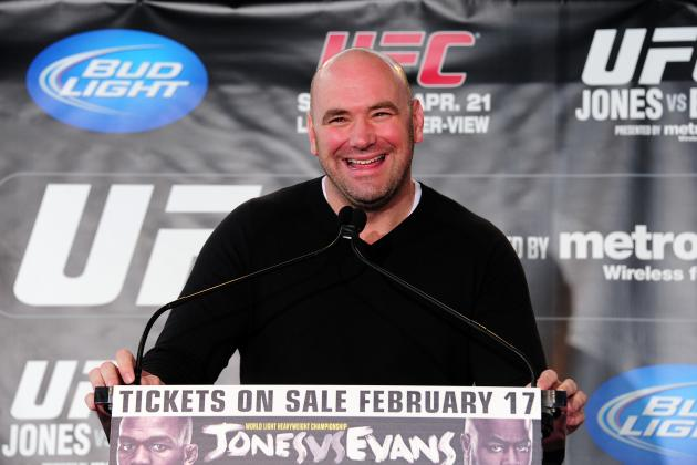 Dana White Really Knows How to Make a Fighter Feel Special