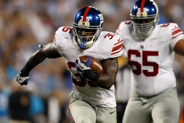 Andre Brown: Updated Fantasy Outlook and Analysis for Giants RB
