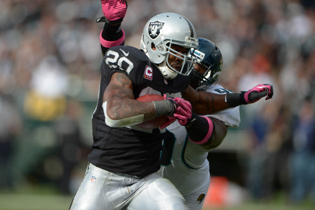 All-22 Review: McFadden Taking Baby Steps in Oakland's Zone-Blocking Scheme