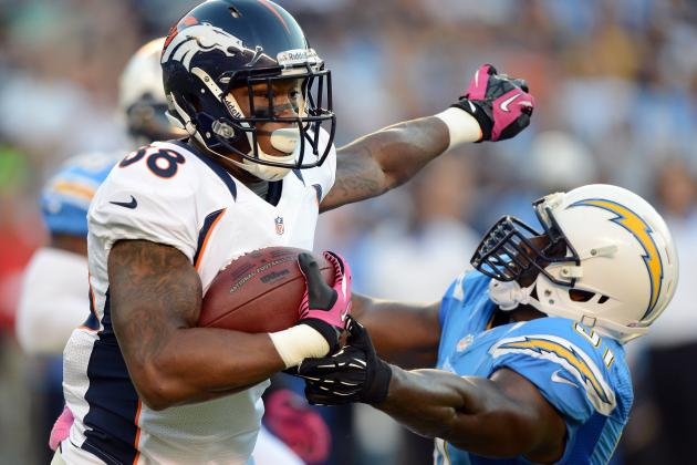 2012 Fantasy Football: Wide Receiver Rankings for Week 8