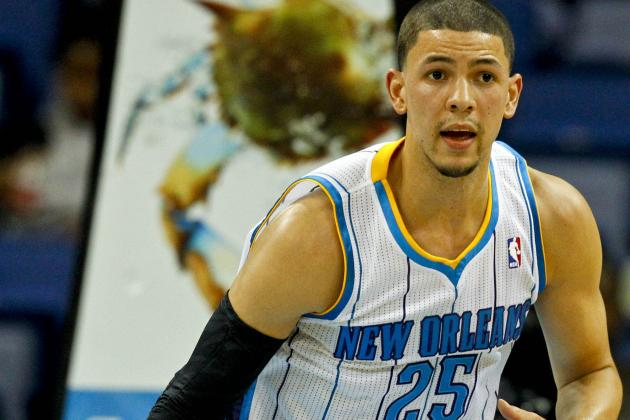 Austin Rivers Sprains Ankle vs. Mavs