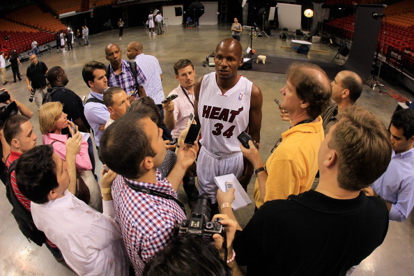 Ray Allen Needs to Stop Talking About the Boston Celtics and Move on