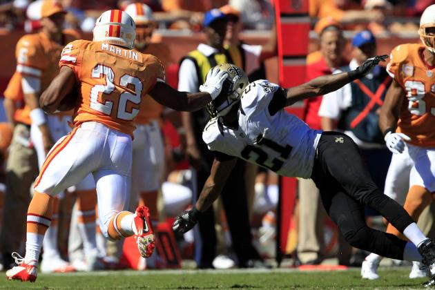 2012 Fantasy Football Week 8: Running Backs (RB) Rankings / Projections