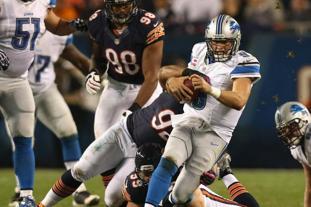 Lions vs Bears: Offensive Issues, Stafford Foil Lions' Chances to Beat Chicago