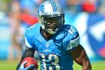 Lions' WR Burleson Out for Season With Broken Leg
