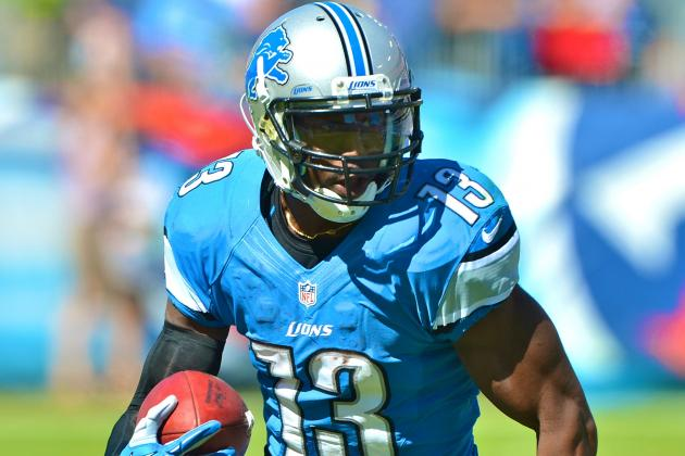 Nate Burleson Injury: Updates on Lions WR's Leg
