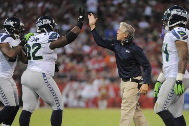 Pete Carroll Responds to Harbaugh on Seattle Seahawks' 'Physical Play'